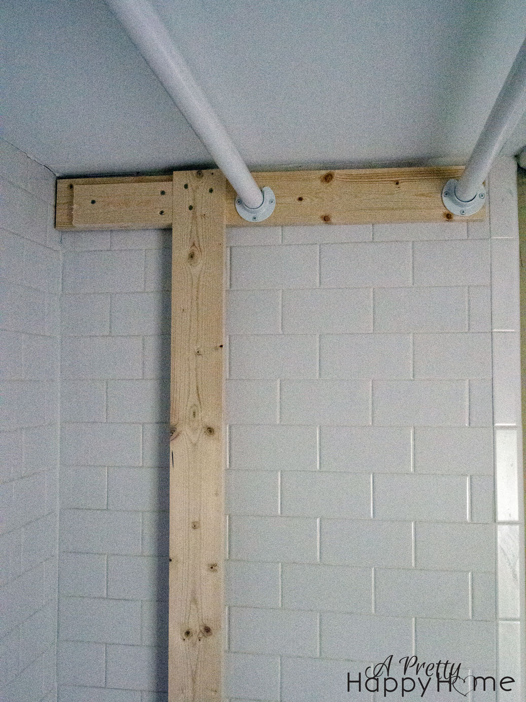Turning A Tub Shower Into A Closet Without Damage A Pretty