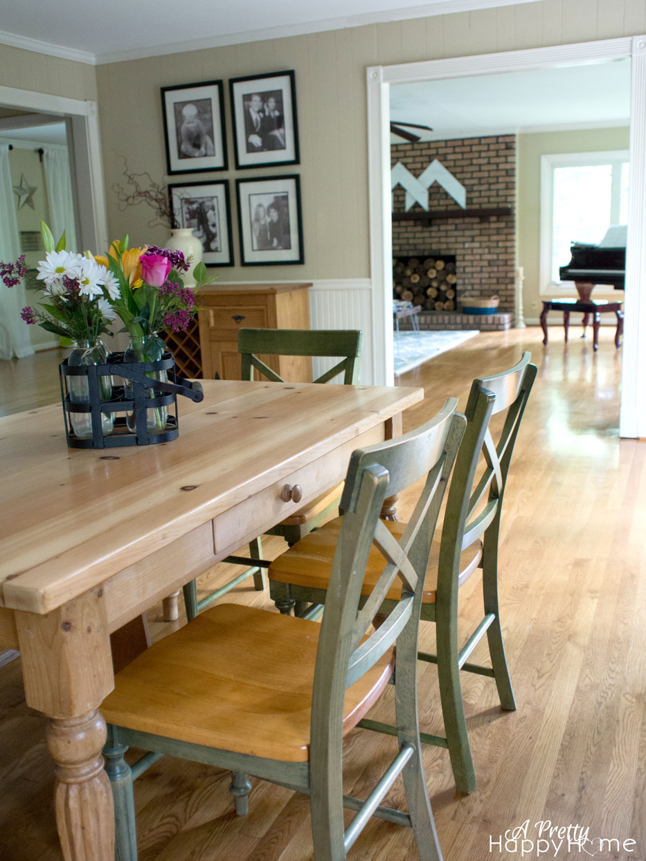 Refinish Wood Chairs Without Tools A Pretty Hy Home