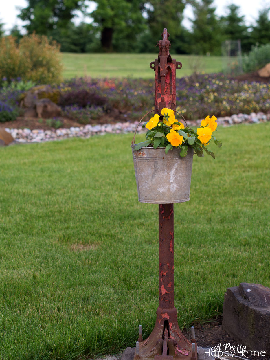 riveter flower pot on the happy list