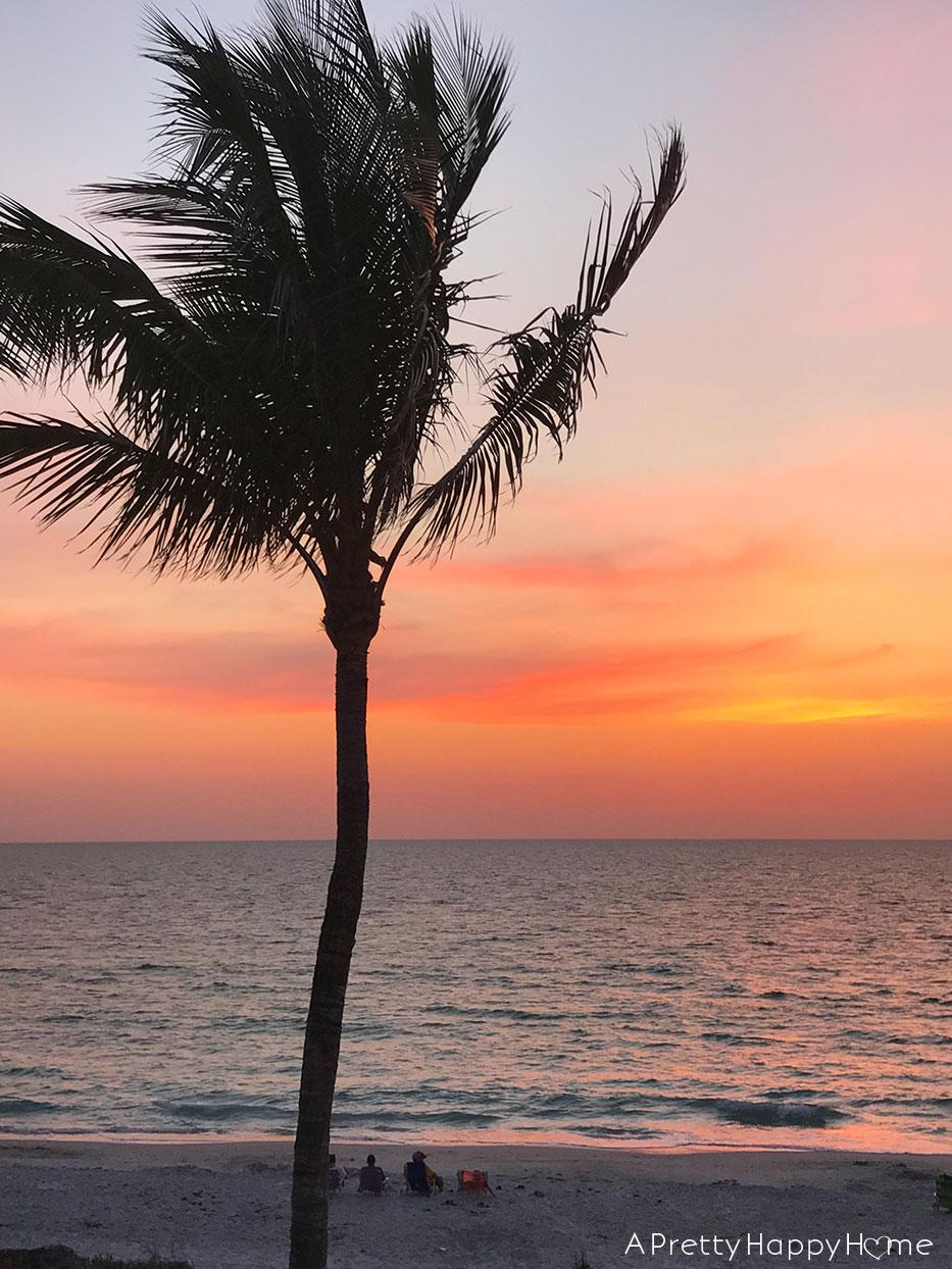 indian rocks beach florida sunset on the happy list