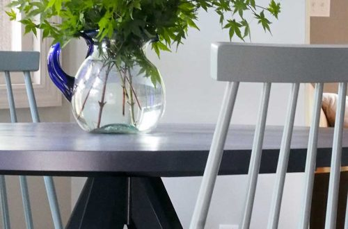 round dining table makeover
