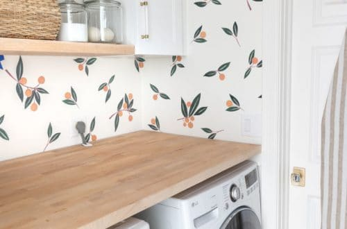 tangerine wall decal by driven by decor on the happy list