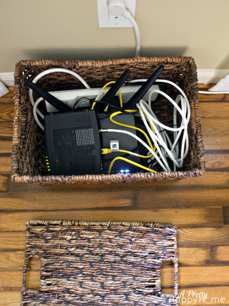 Hiding a Router and Modem in Plain Sight