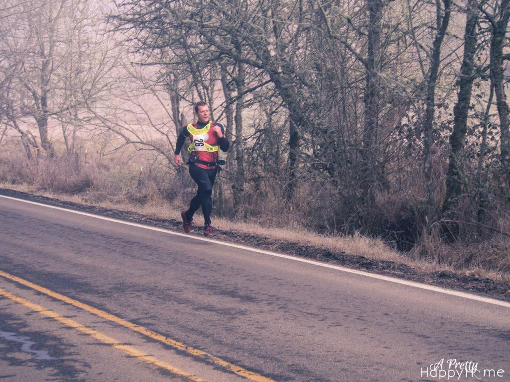 marathon runner on the happy list