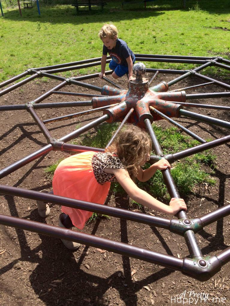kids at irish playground