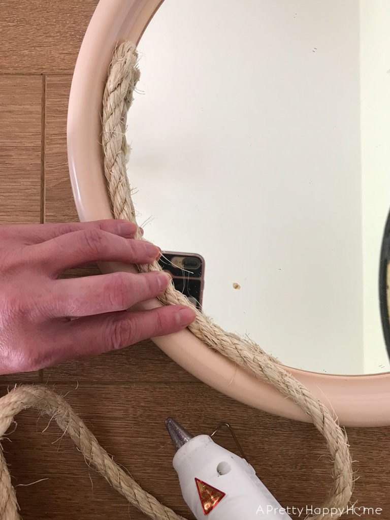 mirror makeovers rope mirror makeover