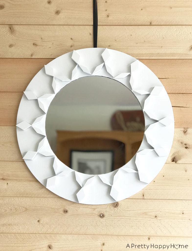 mirror makeovers geometric mirror makeover using children's blocks