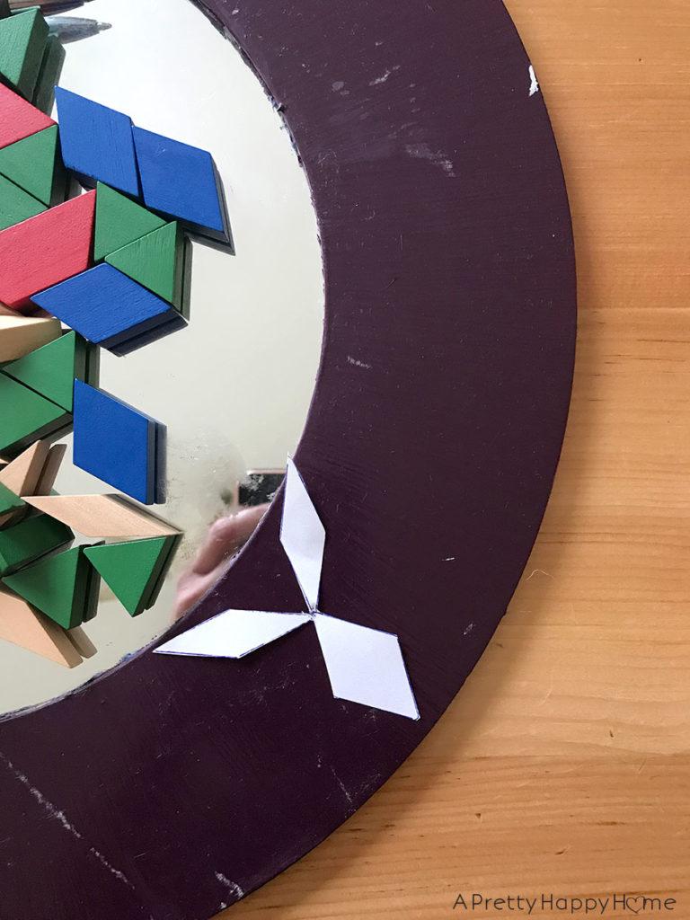 mirror makeover geometric mirror makeover using blocks