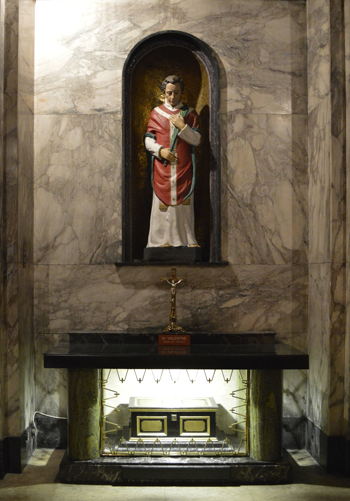 st valentine shrine white friar church dublin