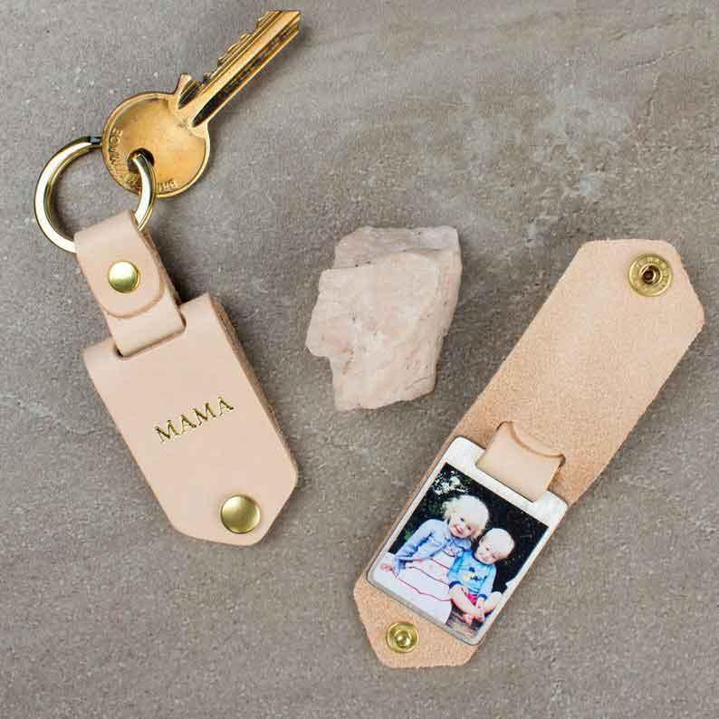 photo keychain by creategiftlove on etsy