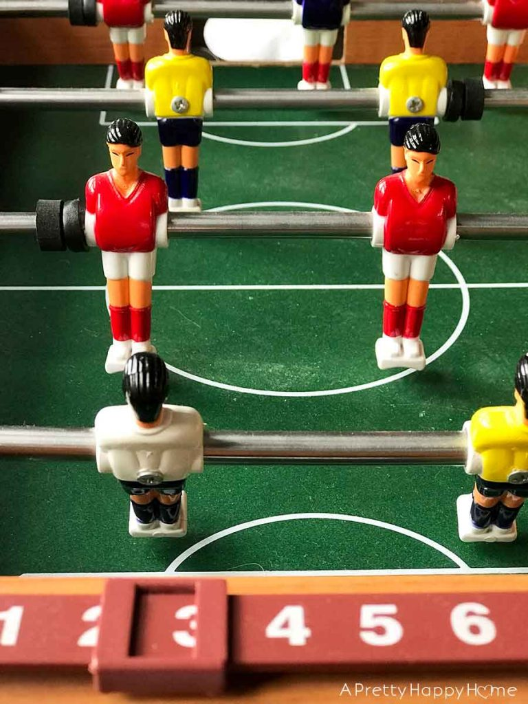 My Latest Thrift Store Finds foosball table
