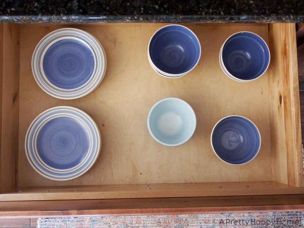 kitchen drawer organization strategy
