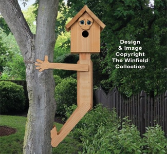 tree hugger birdhouse plan via the winfield collection