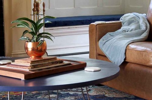 Convert a Dining Table Into a Coffee Table