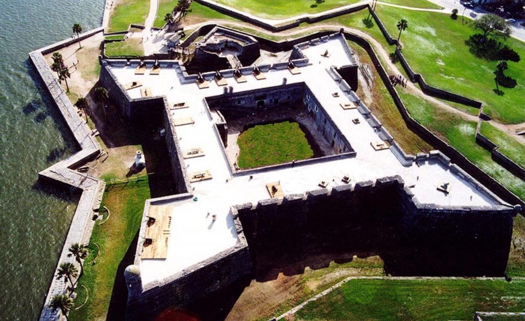 castillo do san marcos on the happy list