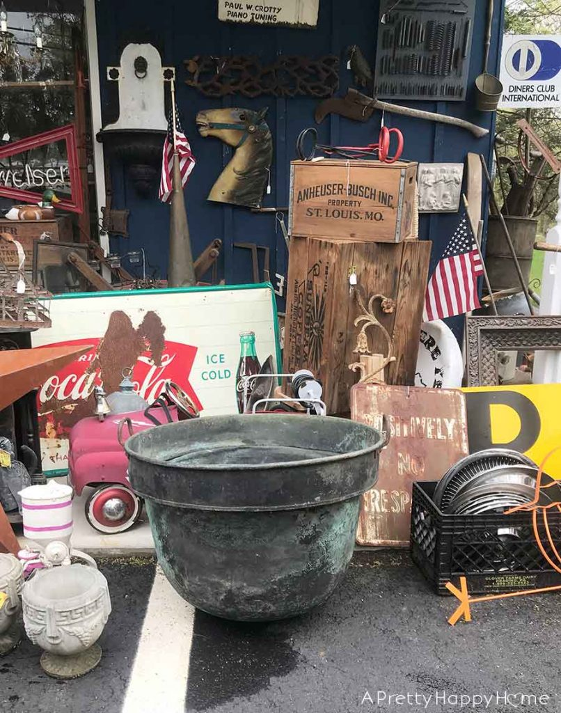 happy thrifting smalltown antiques
