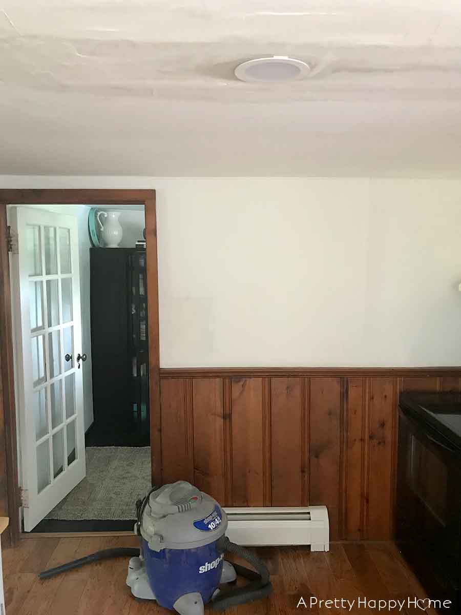 colonial farmhouse kitchen mini makeover progress