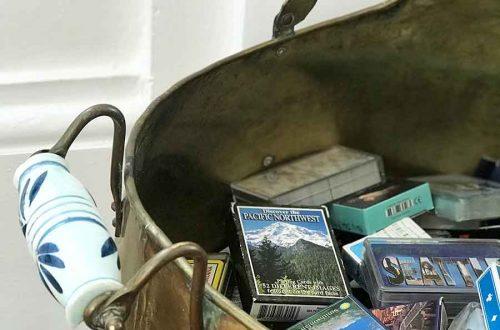The Best Flea Market Score brass ash bucket