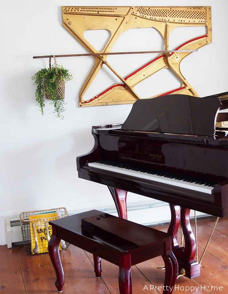 piano harp art piano pedal