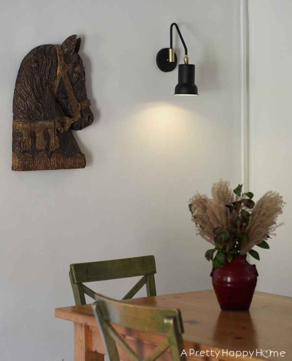 pathson brass wall sconce