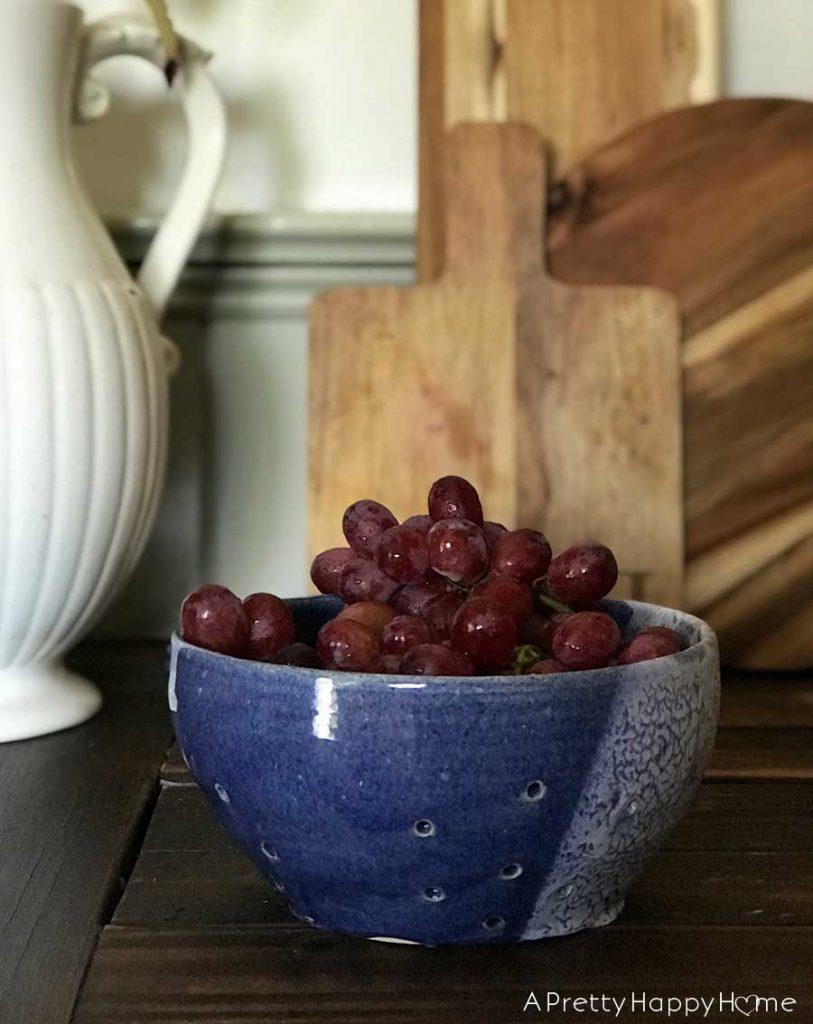 in praise of the ceramic colander