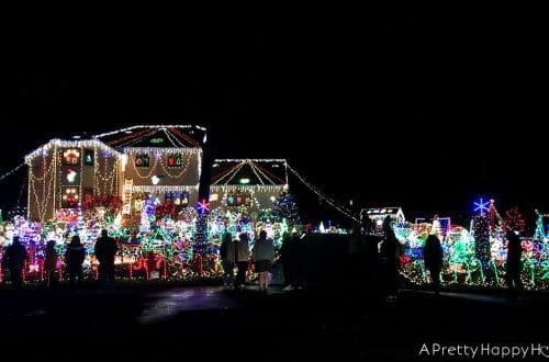 christmas lights on the happy list