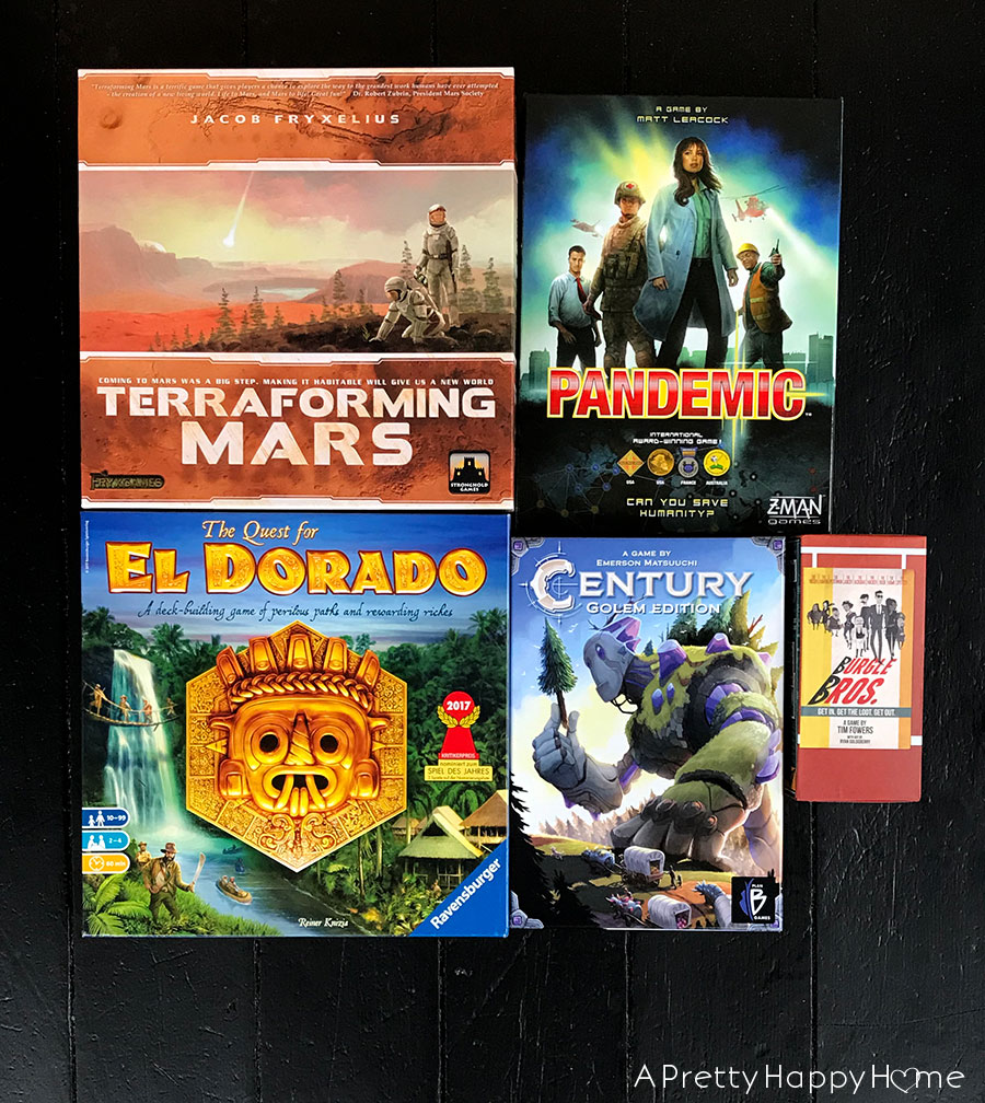 Five Board Games Handy Husband Recommends