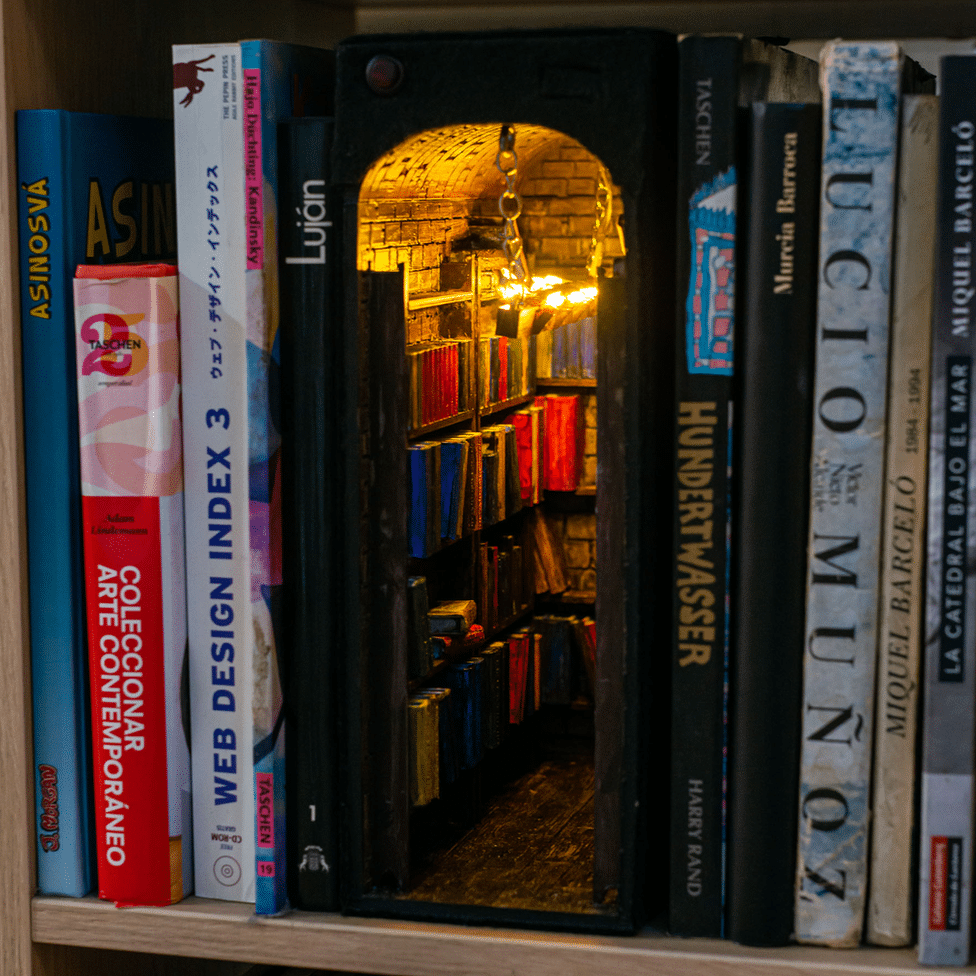 alby martin's book nook via bbc news on the happy list