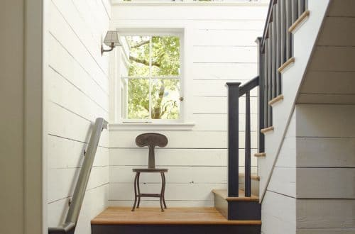 english cottage stairs via the boardroom on the happy list
