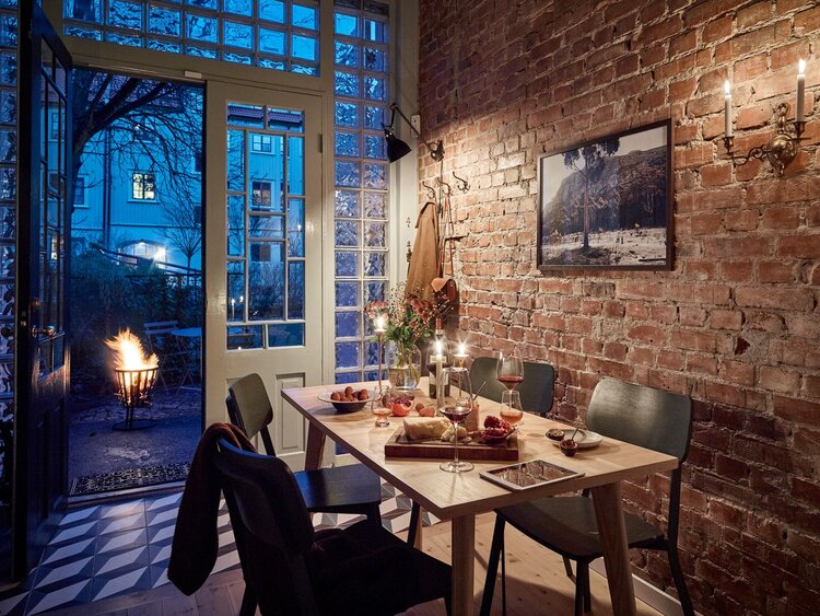 window wall via the nordroom