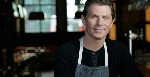 bobby flay headshot via bobby flay on the happy list