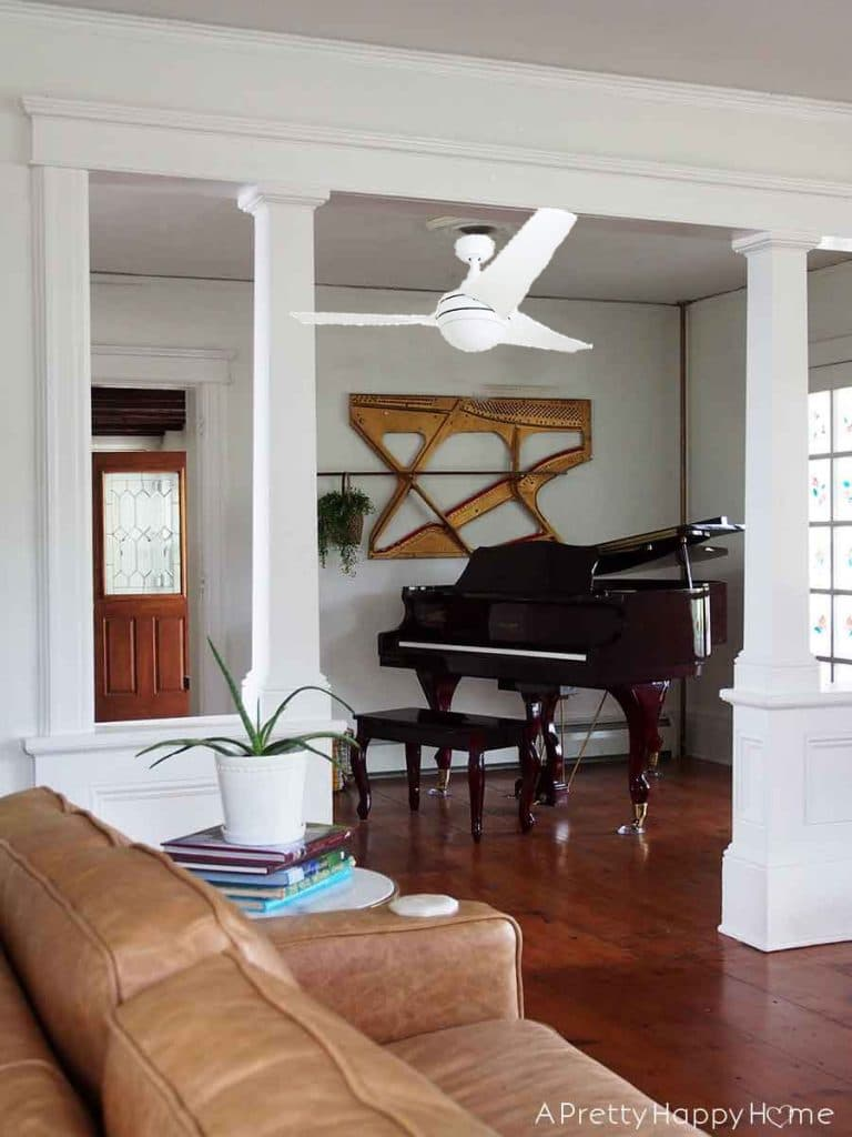 ceiling fan for the music room