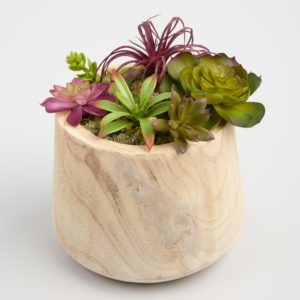 wood planter from world market
