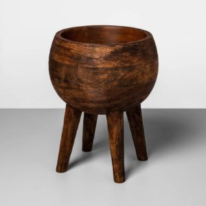 wood planter from target