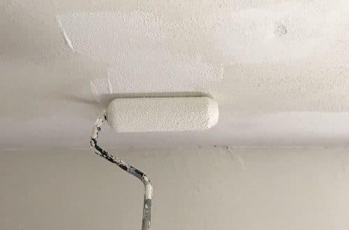 Painting Ceilings is Super Fun