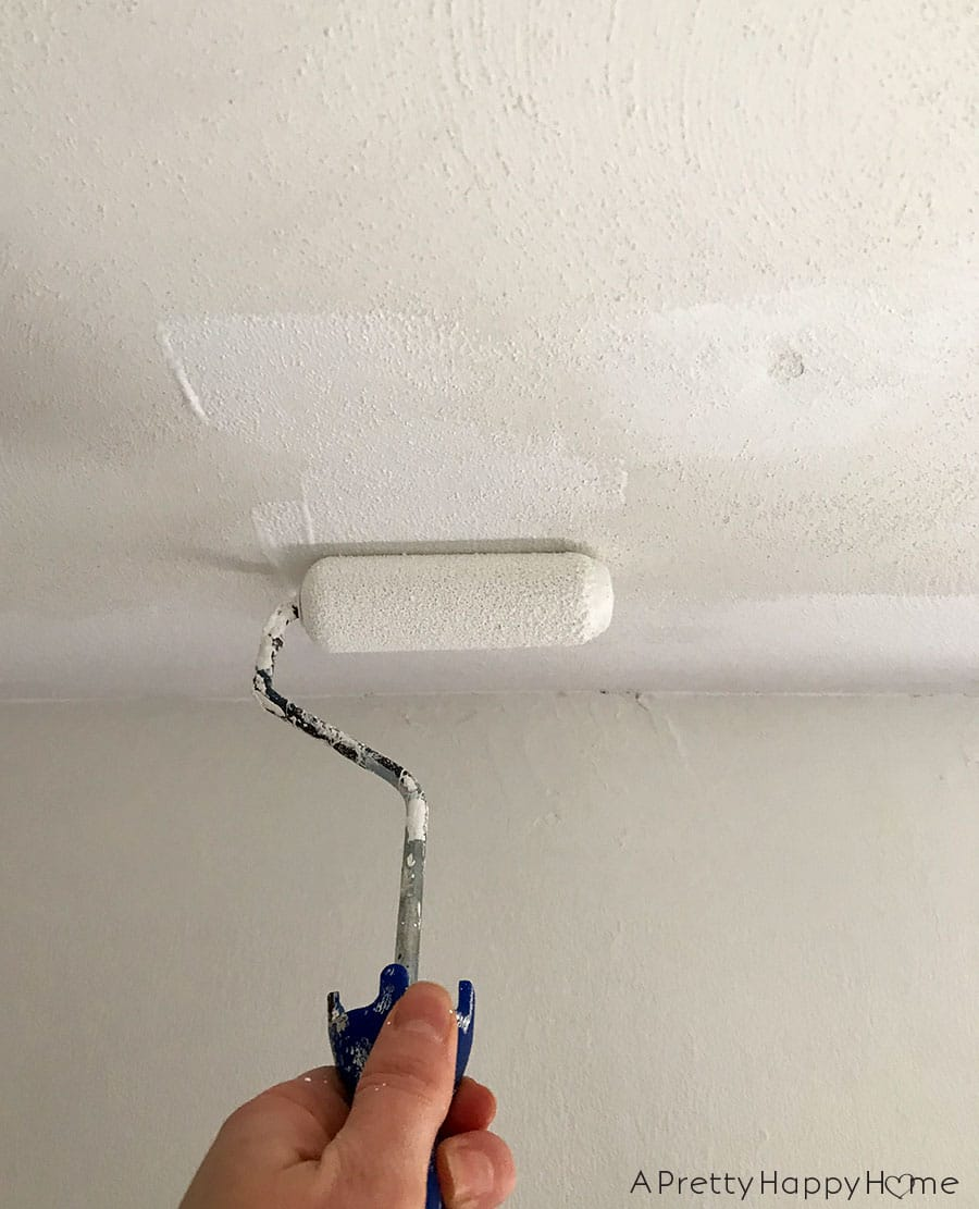 Painting Ceilings is Super Fun