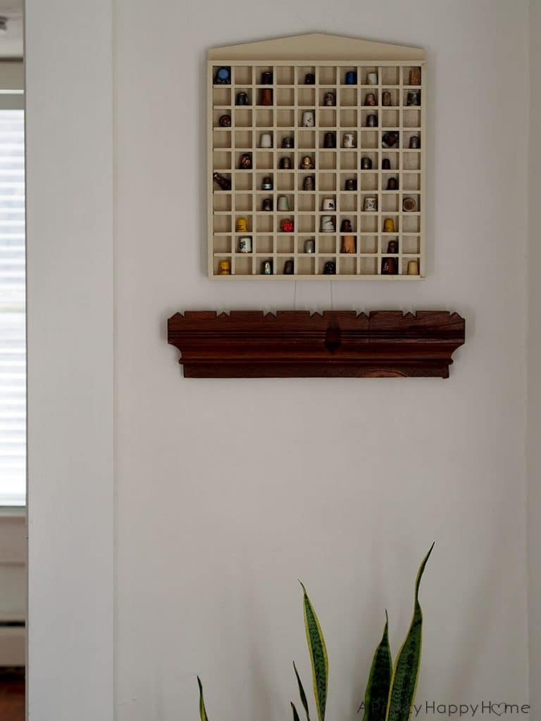 decorating with thimbles in a modern way