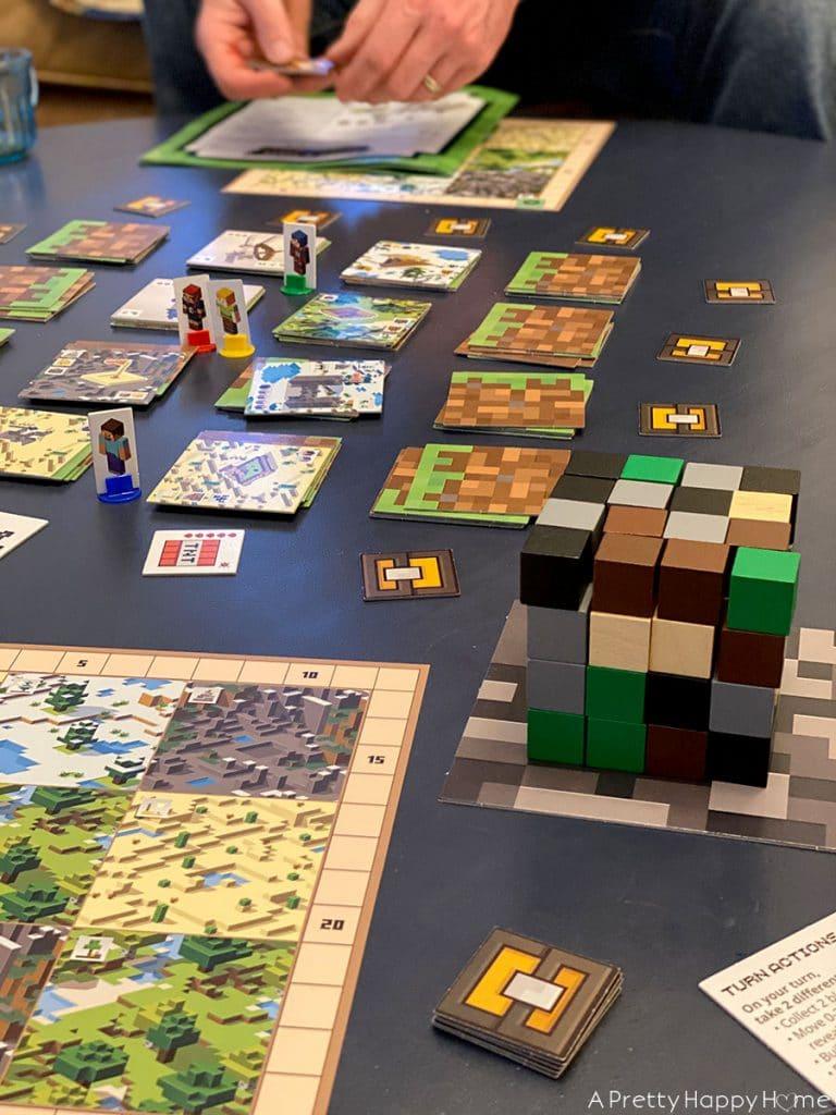 weekday quarantine schedule minecraft board game