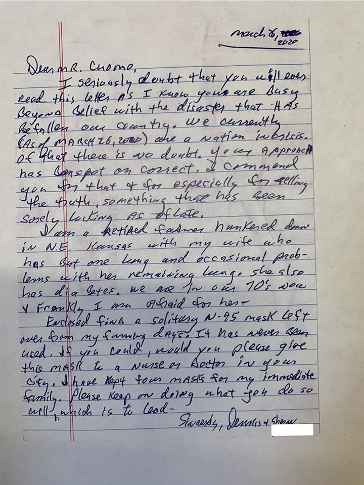 kansas farmer letter to governor cuomo on the happy list