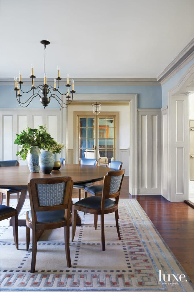 NY Colonial home via luxe daily on the happy list