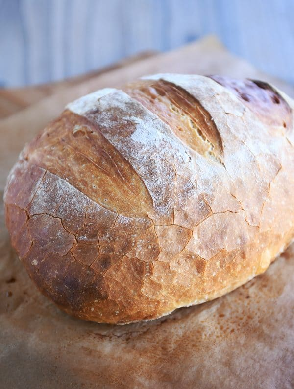 rustic bread by mel's kitchen cafe on the happy list