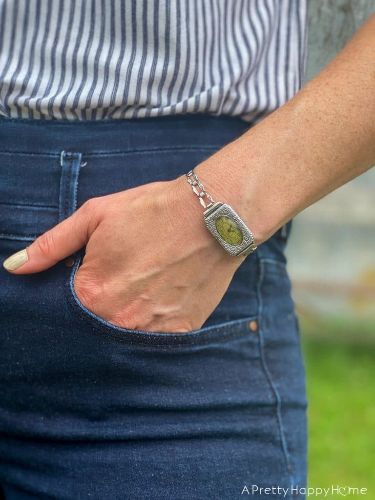 wear the vintage watch