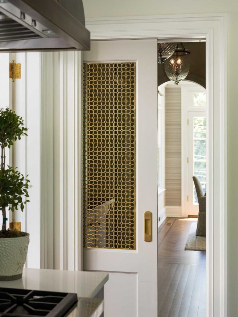 brass door insert via rosen kelly conway on the happy list