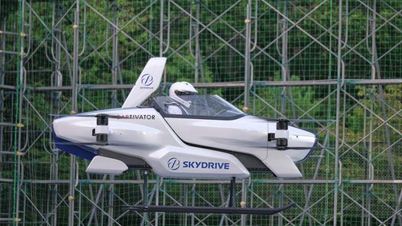 flying car japan via yahoo finance on the happy list