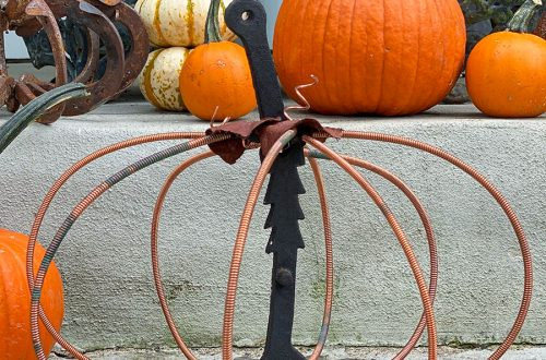 piano wire pumpkin on the happy list
