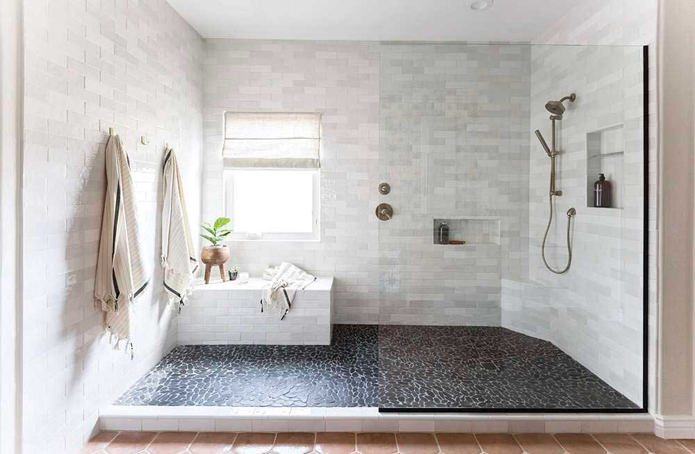 walk in shower via phoenix home and garden on the happy list