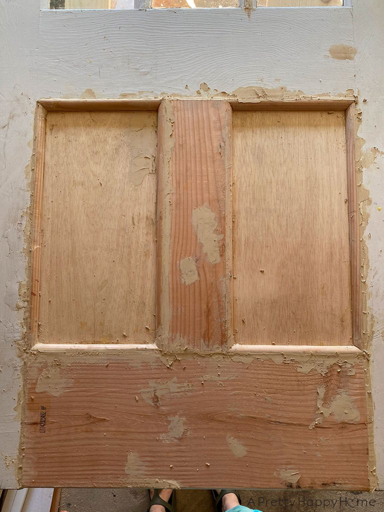How to Remove a Dog Door From a Wood Door and Repair the Damage