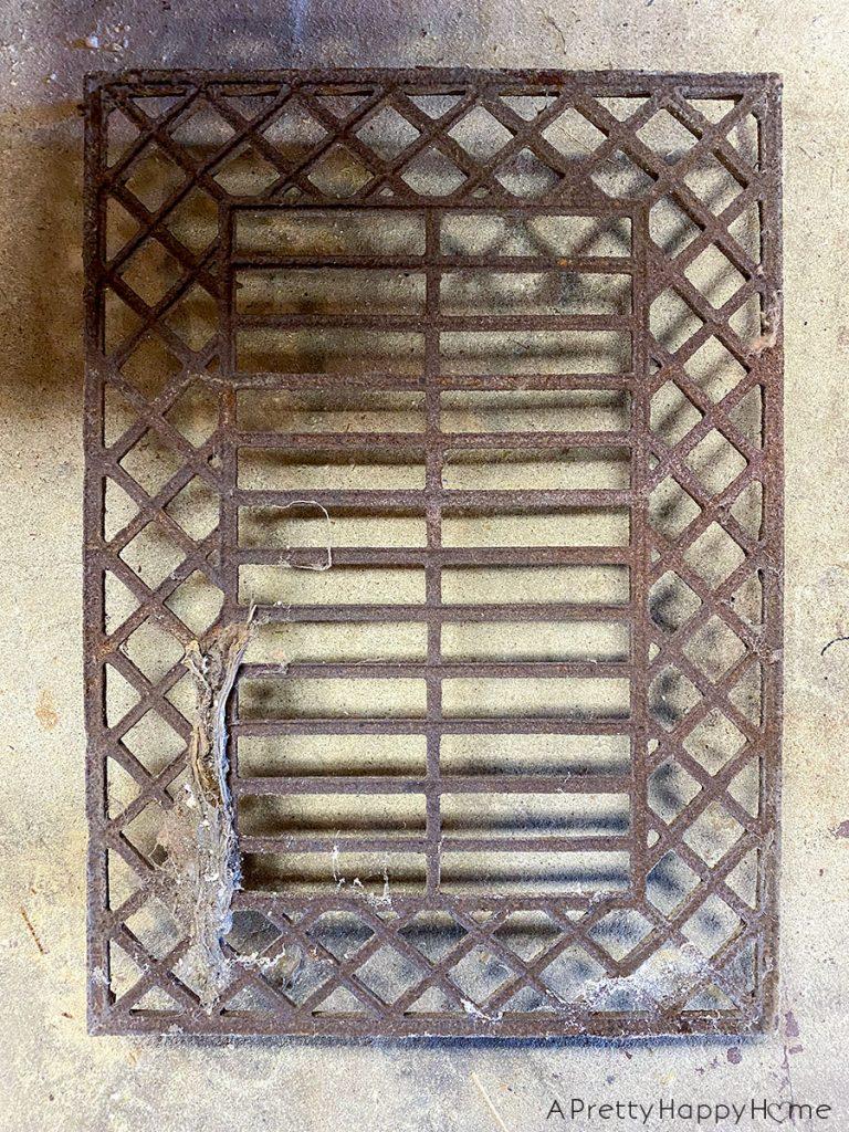 Antique Grate Wall Art