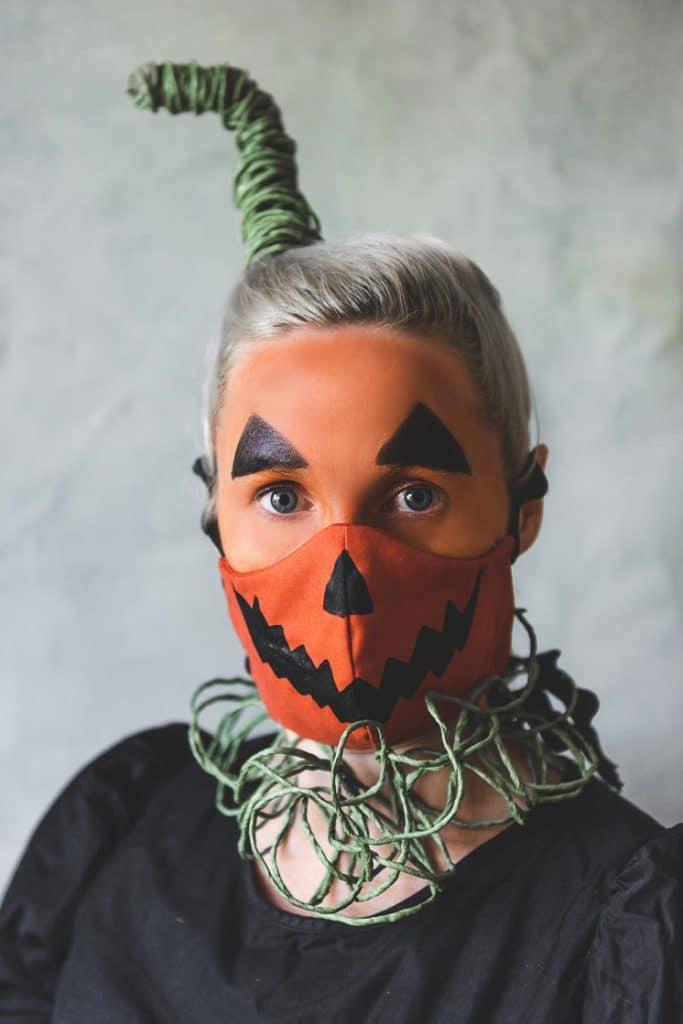 house of lars diy halloween face masks pumpkin on the happy list