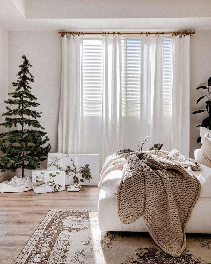 true home simple christmas decor via my domaine on the happy list